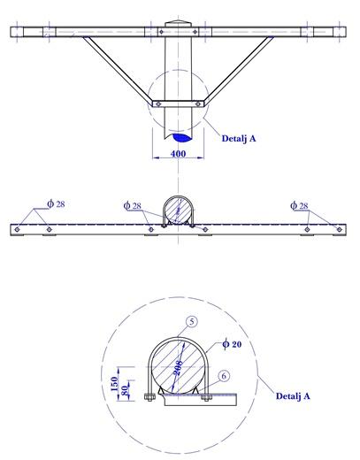 Visokonaponska vršna konzola VKP